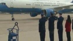 Новоизбраниот претседател Tрамп пристигна во Вашингтон пред утрешната инаугурација