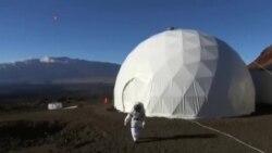 زندگی ۶ فضانورد در قرنطینه شبیه سازی شده به شکل مریخ