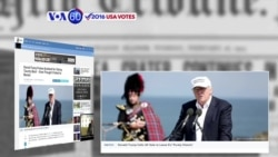 VOA60 Elections - ABC News: Donald Trump is calling Britain's vote on leaving the EU 'historic'