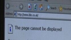 中國屏蔽BBC英文網站