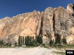 FILE - Villages of Shohimardon, Ferghana region, Uzbekistan, July 2019