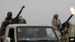 Rebeldes Houthis
