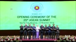 พิธีเปิดการประชุมสุดยอดผู้นำอาเซียน ครั้งที่ 25