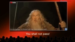 English @ the Movies: You Shall Not Pass