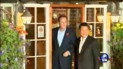 习近平星期五结束对英国国事访问
