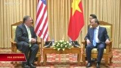 Ngoại trưởng Mỹ 'ủng hộ một Việt Nam vững mạnh và độc lập'