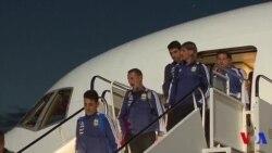Messi arrive en Russie (vidéo)