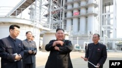 김정은 북한 국무위원장이 지난 1일 순천인비료공장 준공식에 참석했다고, 북한 관영 조선중앙통신이 2일 보도했다.