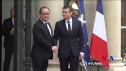 馬克龍就任成為拿破崙以來最年輕法國總統 (粵語)
