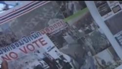 2014-02-04 美國之音視頻新聞: 泰國反對派質疑選舉違憲