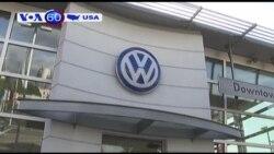Volkswagen sắp 'đền' Mỹ 1 tỷ đô vì gian lận khí thải (VOA60)
