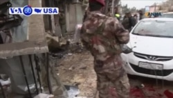 VOA60 America - US Soldiers Killed in IS-Claimed Syria Blast