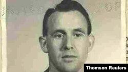 Friedrich Karl Berger na fotografiji iz 1959. koju je objavio Sekretarijat za pravosuđe (Foto: Reuters)