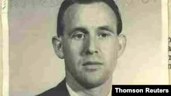 Friedrich Karl Berger, fotografia de 1959, divulgada pelo Departamento de Justiça