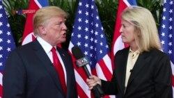 گفتگوی اختصاصی صدای آمریکا با ترامپ؛ سه ماه است که با کره شمالی در تماس هستیم