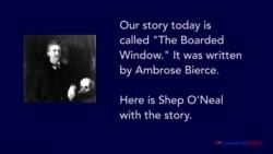 The Boarded Window by Ambrose Bierce