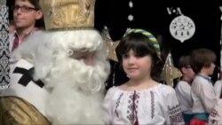 Святий Миколай завітав до дітлахів на Вашингтонщині
