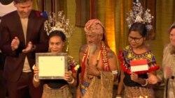 """Penganugerahan """"Equator Prize"""" kepada Komunitas Dayak Iban"""