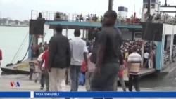Changamoto za kivuko cha likoni mjini Mombasa.