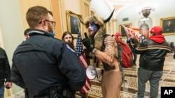Sukob Trumpovih pristalica i policije u Kongresu