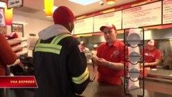 Sandwich và Burger miễn phí dịp chính phủ Mỹ đóng cửa
