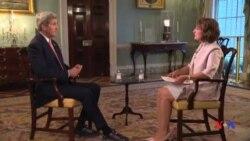 John Kerry em Entrevista a VOA