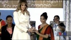 Меланія Трамп вручила престижну нагороду Держдепартаменту «Відважні жінки» 13 жінкам. Відео