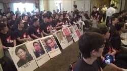 VOA连线:六四周年抗议,中国驻纽约领馆寻求警方协助