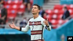 کریستیانو رونالدو در رقابت با فرانسه دو گول به ثمر رساند