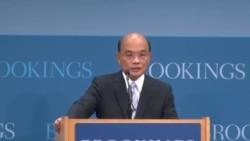 """苏贞昌华府演讲 """"责任、和解、重新平衡""""为新指导原则"""