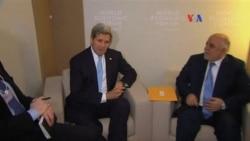 John Kerry en el Foro de Davos