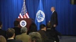 Johnson: Menos detenciones en la frontera