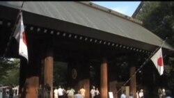 日本兩閣員參拜靖國神社