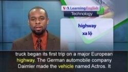 Phát âm chuẩn - Anh ngữ đặc biệt: Germany Self-Driving Truck (VOA)