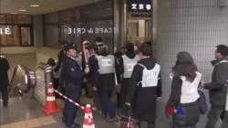 2018-1-22 美國之音視頻新聞: 日本東京主題公園進行躲避北韓導彈演習