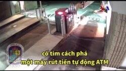 Mỹ: Dùng máy xúc phá ATM trộm tiền