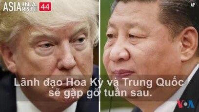 Ông Trump dự đoán cuộc gặp với Chủ tịch Tập sẽ 'cam go' (VOA60 châu Á)