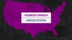 กลุ่มสิทธิสตรีนับล้าน เดินขบวน Women's March ทั่วอเมริกา