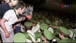Cảnh sát TQ triển khai dày đặc khắp Quảng trường Thiên An Môn