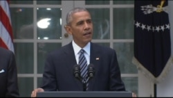 President Obama on Peaceful Transition of Power in US