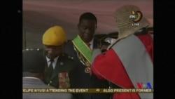 津巴布韋新總統宣誓就職