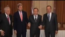 2014-01-22 美國之音視頻新聞: 敘利亞和會激辯阿薩德去留問題