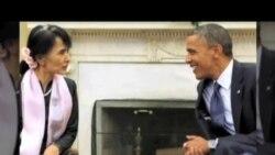 缅甸欢迎奥巴马历史性访问