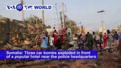 VOA60 World - Three Explosions Rock Somali Capital; 27 Dead, Including Gunmen