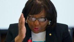 Bác sĩ Carissa F. Etienne, giám đốc Tổ chức Y tế Liên Mỹ (PAHO).