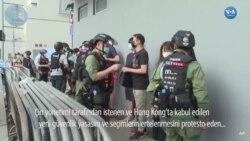 Hong Kong'da Protesto Gösterisine Müdahale