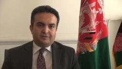 احمد شکیب مستغنی، سخنگوی وزارت خارجۀ افغانستان