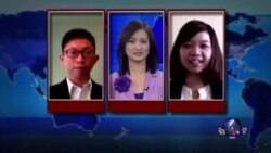 VOA连线:台湾学运代表抵达华盛顿发表演说