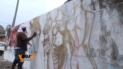 L'art du grafitti au Gabon
