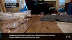 Heavy Rains Cause Flooding in Texas